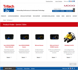 Tritech Launches Product Configurator