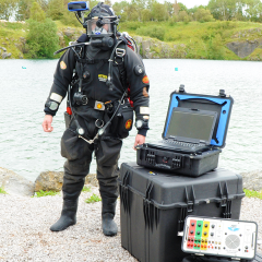 Tritech to Run Live Webinars on the Diver Mounted Display!